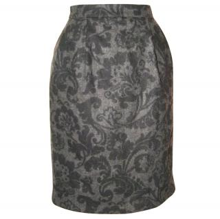 Paul Smith Black. silk lined winter skirt, size 46