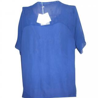 American Vintage Sapphire blue top
