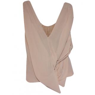 Chloe Grecian 100% silk top Fr 36
