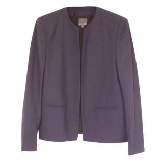 Fendi Wool/Silk Navy Jacket