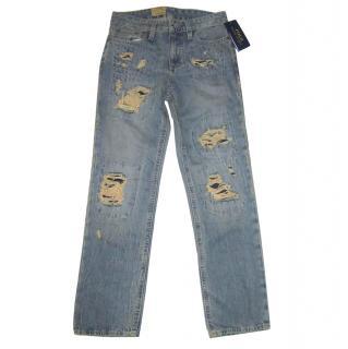 Ralph Lauren Boy's Distressed Jeans