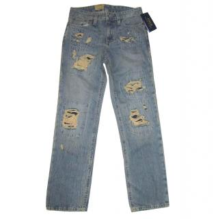 Ralph Lauren Boy's Distressed Jeans