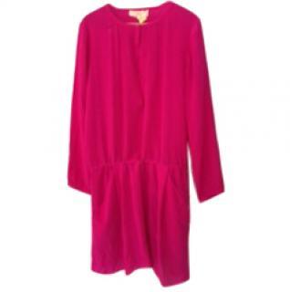 Vanessa Bruno Pink Silk party dress