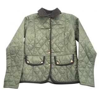 Barbour Khaki Ladies Quilted Jacket