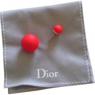 Dior Pink Tribal Earrings