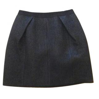 Marc Jacobs Metallic Wool-blend Boucle Skirt