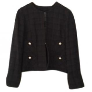Edward Achour Black tweed jacket
