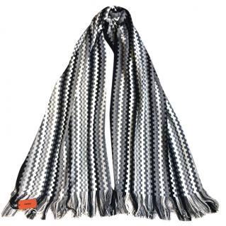 Missoni grey scarf