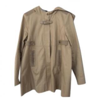 Maje brown Khaki trench coat