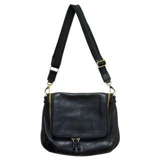 Anya Hindmarch Black Leather Cross Body Bag