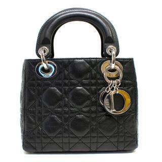 Christian Dior Mini Lady Dior Bag in Black