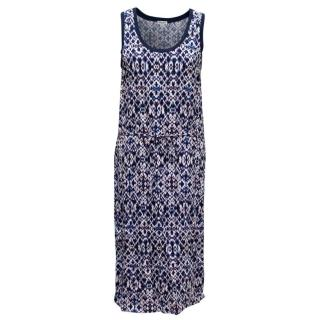 Splendid Printed Mid-Length Dress