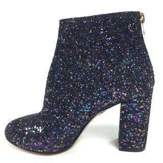 Charlotte Olympia Glitter Boots