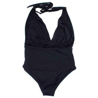 Ipanema Black Halter Neck Swimming Costume