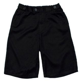 A.P.C Black Shorts