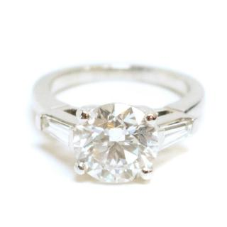 Bespoke Platinum Diamond Ring