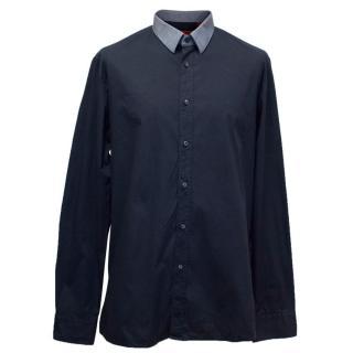 Hugo Boss Navy Shirt