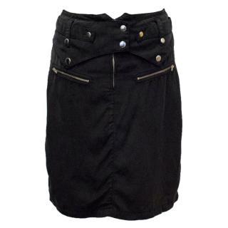 Sass & Bide Black Light-Weight Skirt