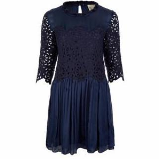 Sea New York Blue Lace & Silk Dress