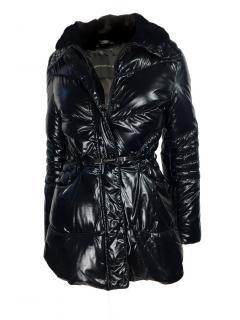 Ermanno Scervino Puffer Coat w Fur Collar