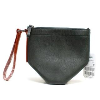 Kuho Black T Bag with Leather Strap