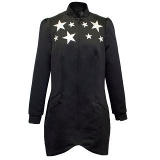 Morgan Clifford Black Starlet Varsity Jacket