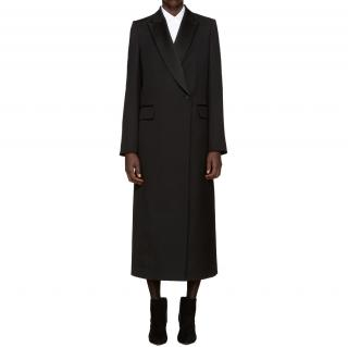 Pallas black wool coat