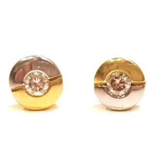 Diamond Stud Earrings 18ct Gold