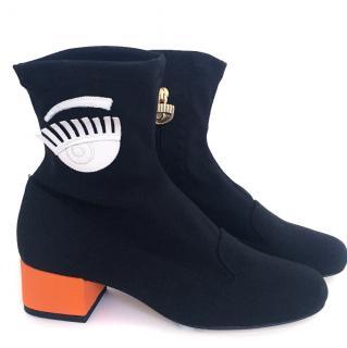 Chiara Ferragni SS16 Black boots