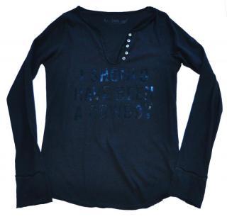 Zadig & Voltaire black cotton top