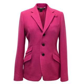 Ralph Lauren Fuchsia Pink Blazer