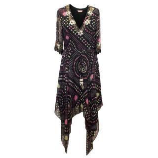 Matthew Williamson Multicoloured Dress with Embellishment