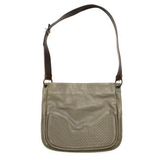 Bottega Veneta Green Messenger Bag