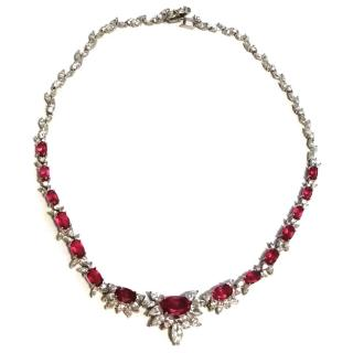 Ben-Amun Faux Ruby Necklace