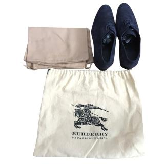 BURBERRY Suede Oxford Shoes