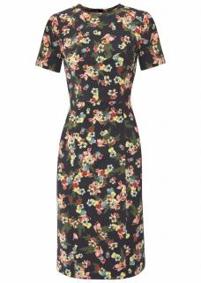Erdem 'Inis' Floral Print Dress