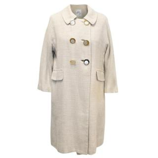 Milly Cream Coat