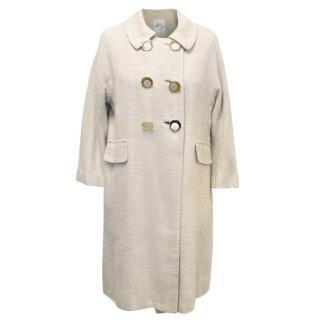 Milly Cream Coat