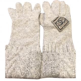 Cashmere Chanel Gloves