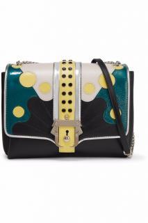 PAULA CADEMARTORI Alice paneled leather shoulder bag