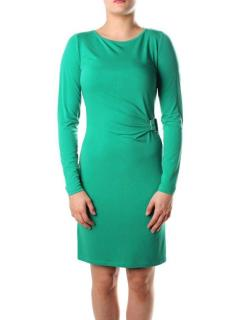 New Michael by Michael Kors Pepper Green Long Sleeve Dress RRP �150