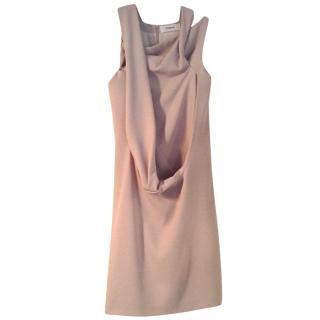 Chalayan beige dress.