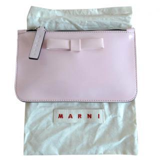 Marni pink pouch bag