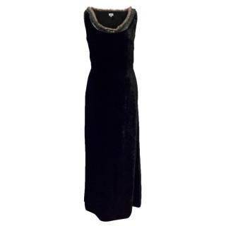 Paul Smith Black Velvet Dress