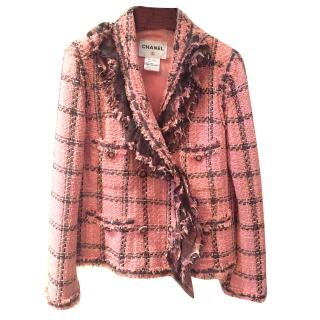 Chanel Boucle pink jacket