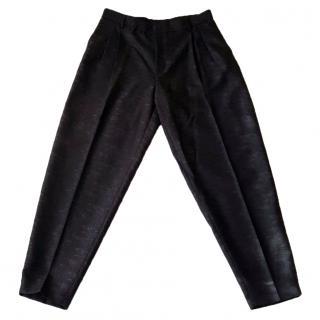 NEW Alexander McQueen McQ pleat wool trousers