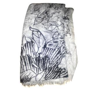 Horiyoshi the Third Cashmere and Silk Scarf