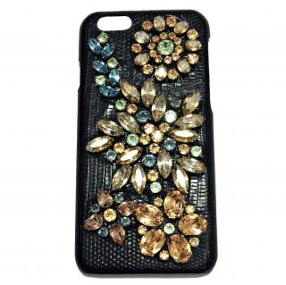 Dolce & Gabbana Crystal Embellished iPhone 6 Case