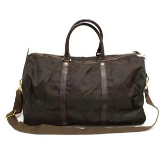 Gianni Versace Brown Holdall Bag