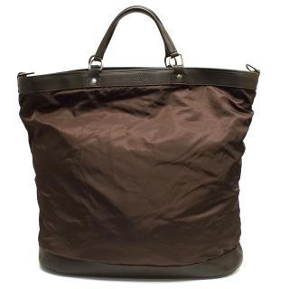 Richard James Savile Row Brown Holdall Bag